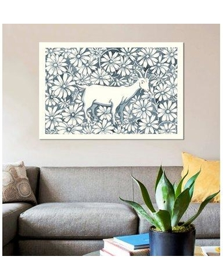 """East Urban Home 'Farm Life III' Graphic Art Print on Wrapped Canvas ESUH7689 Size: 18"""" H x 26"""" W x 1.5"""" D"""