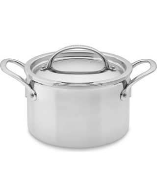 Williams Sonoma Thermo Clad Tm Stainless Steel Soup Pot 4