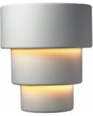 Justice Design Group Ambiance 12 Inch Wall Sconce - CER-2235-BIS-LED2-2000