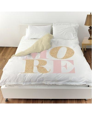 Oliver Gal Love More Romance Duvet Cover 18982.DUVET__MF Size: King