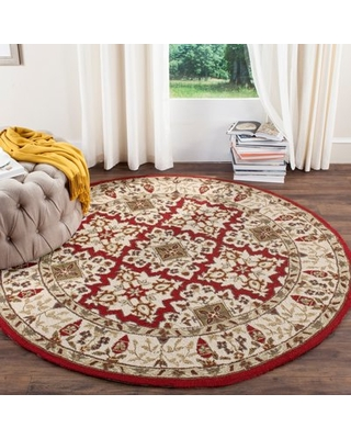 Check Out Deals On Broadcommon Hand Hooked Wool Ivory Area Rug Charlton Home Rug Size Rectangle 2 X 3