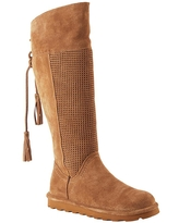BEARPAW® Tracy Suede Knee-High Boot with NeverWet™ - Brown