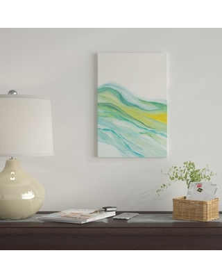 """'Abstract V' By Marco Gonzalez Graphic Art Print on Wrapped Canvas East Urban Home Size: 40"""" H x 26"""" W x 0.75"""" D"""