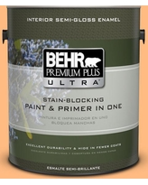 The Best Sales For Behr Ultra 1 Gal 270b 4 Apricot Flower Extra Durable Flat Interior Paint Primer