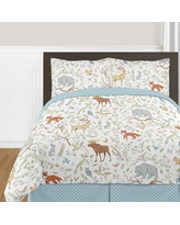 Sweet Jojo Designs Woodland Toile Comforter Set WoodlandToile-Q-3 / WoodlandToile-Twin-4 Size: Full/Queen