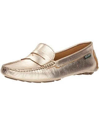 Eastland Women's Patricia Loafer, Gold, 9 M