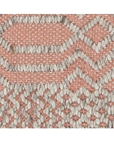 """Bungalow Rose Patwin Patterned Contemporary Pink/Natural Area Rug BGRS3341 Rug Size: 7'9"""" x 10'6"""""""