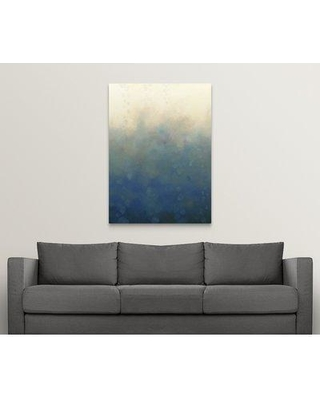 """Great Big Canvas 'Sea and Sky I' Chariklia Zarris Painting Print 1163113_1 Size: 48"""" H x 35"""" W x 1.5"""" D Format: Canvas"""