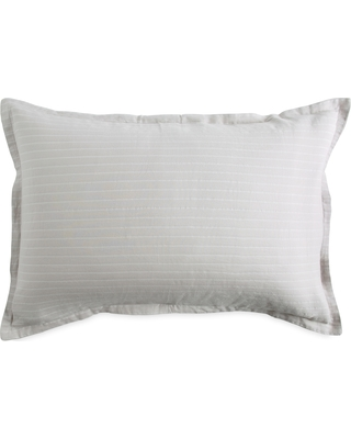 Dkny Pure Comfy Platinum Pillow Sham, Size King - Metallic