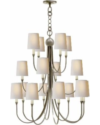 Visual Comfort and Co. Thomas O'Brien Reed 33 Inch 16 Light Chandelier - TOB 5019AN-NP