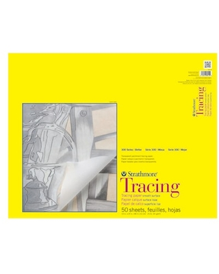 "Strathmore® 300 Series Tracing Paper Pad | 19"" x 24"" 
