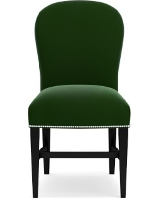 Maxwell Dining Side Chair without Handle, Signature Velvet, Emerald