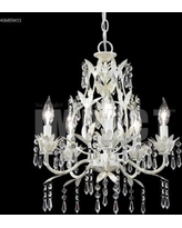 James R. Moder Mini Crystal 17 Inch 5 Light Mini Chandelier - 40685W11