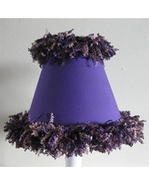 "Silly Bear Pop Star Purple 11"" Fabric Empire Lamp Shade LS-515"