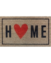 "Home with the Heart Typography Doormat 1'6""x2'6"" - Room Essentials"
