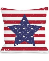"Alcott Hill Villa Star Throw Pillow ACOT5537 Size: 18"" H x 18"" W x 3"" D"