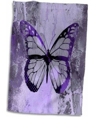 East Urban Home Io Butterfly Illustration Hand Towel W000546960