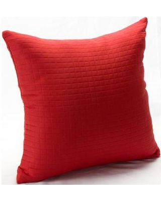 "Ivy Bronx Skyler Throw Pillow IVYB2867 Size: 20"" Color: Tomato Puree"