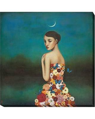 "Artistic Home Gallery 'Reflective Nature' by Duy Huynh Painting Print on Wrapped Canvas 354IG Size: 30"" H x 30"" W x 1.5"" D"