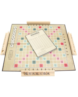 Vintage Bookshelf Edition - Scrabble - Classic & Retro Toys for Ages 9 to 11 - Fat Brain Toys