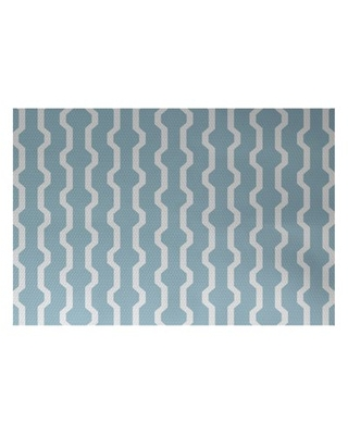 Simply daisy 2' x 3' nuts and bolts decorative holiday geometric print indoor rug