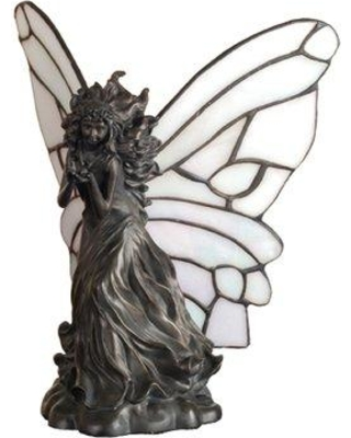 Meyda Tiffany Fairy Holding Ladybug Accent Table Lamp 50428
