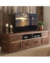 """Williston Forge Jepsen TV Stand for TVs up to 88"""" Wood in Brown, Size 22.0 H x 80.0 W x 20.0 D in 