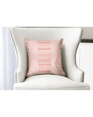 "Ebern Designs Thursa Lt Throw Pillow ENDE3972 Size: 24"" x 24"" Location: Indoor Use Only Color: Pink"