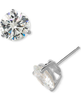 Women's Nordstrom Precious Metal Plated 8Ct Tw Cubic Zirconia Earrings