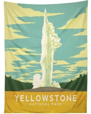 East Urban Home Anderson Group Yellow Stone National Park Tapestry EBHT6171