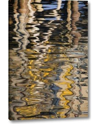 """Millwood Pines 'Use Alaska Ketchikan Reflections' Photographic Print on Wrapped Canvas BI152441 Size: 32"""" H x 21"""" W x 1.5"""" D"""