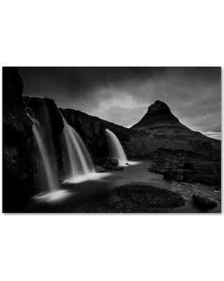 """Trademark Art 'Kirkjufell Iceland' Photographic Print on Wrapped Canvas 1X03837-C Size: 30"""" H x 47"""" W"""