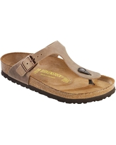 Birkenstock Women's Gizeh Sandal - 42 - Tobacco Oiled Leather