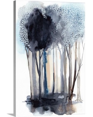 Tranquil Coppice II | Canvas Wall Art, Home Decor | 16x24