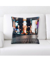 Shopping Special For East Urban Home Blurred Out Throw Pillow Cg234912