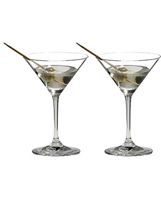 Riedel VINUM Martini Glasses, Set of 2 - ,Clear