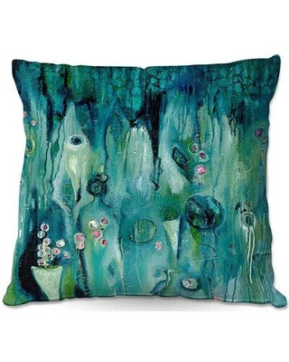 """East Urban Home Couch Beyond Shadows Throw Pillow W000647519 Size: 16"""" x 16"""""""