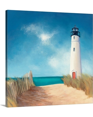"GreatBigCanvas ""Down the Path""by Julia Purinton Canvas Wall Art, Multi-Color"