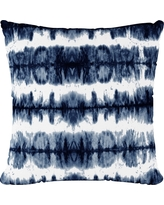 Navy/White Stripe Throw Pillow - Cloth & Co, Obu Stripe Navy
