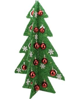 northlight battery operated decorated tinsel led lighted christmas tree table top decoration 31748743 31748760 color