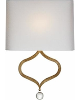 Visual Comfort and Co. Suzanne Kasler Heart 12 Inch Wall Sconce - SK 2258GI-PL