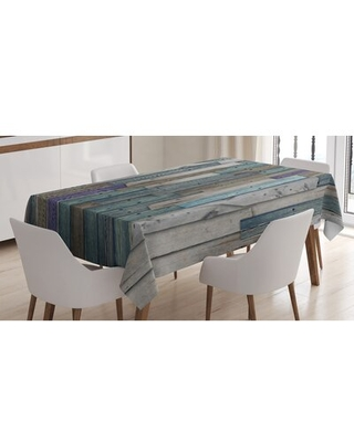 """Dining Room Kitchen Tablecloth East Urban Home Size: 90"""" L x 60"""" W"""