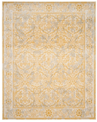 11'X15' Floral Area Rug Ivory/Gold - Safavieh