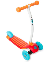 YBIKE GLX Cruze Scooter - Orange - Active Play for Ages 2 to 3 - Fat Brain Toys