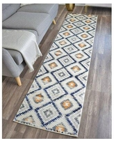 CosmoLiving by Cosmopolitan Golden Girl Ivory Area Rug 79353027 Rug Size: Runner 2' x 8'