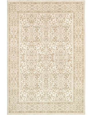 Couristan Marina St. Tropez Champagne-Pearl 5 ft. x 8 ft. Area Rug