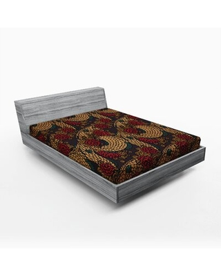 Asian Fitted Sheet East Urban Home Size: Full