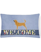 Red Barrel Studio Elwyn Bloodhound Welcome Lumbar Pillow RBRS4716