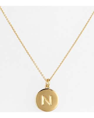 Women's Kate Spade New York One In A Million Initial Pendant Necklace