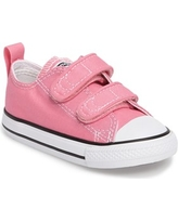 Infant Converse Chuck Taylor Double Strap Sneaker, Size 2 M - Pink